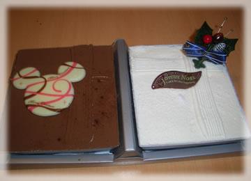 クリスマスケーキ ミッキー
