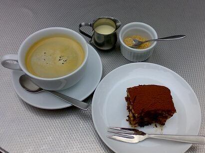 coffee and tiramusu