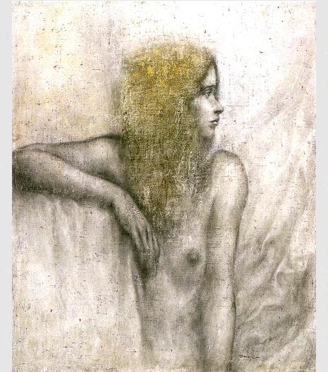 「横を向く裸婦」・15F