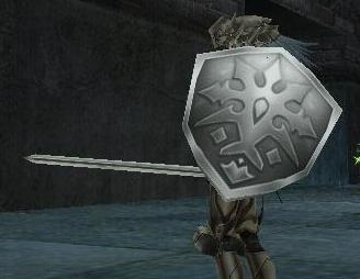 盾でかく剣長くって基本的なレベルアップは踏まえてます