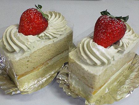 イグサショートケーキ