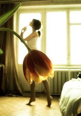 お花のスカート