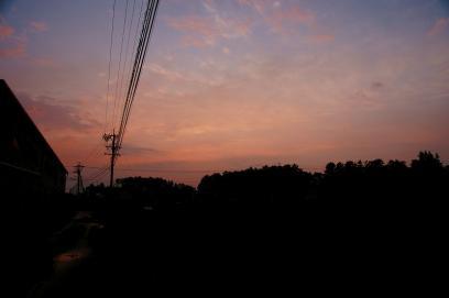 夕焼け・2
