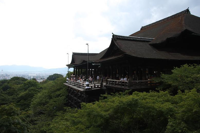 清水寺より、1