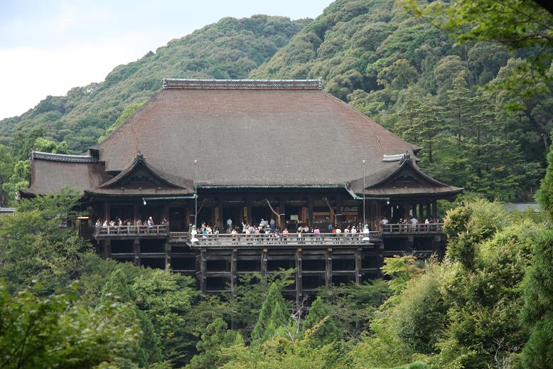 清水寺より、2