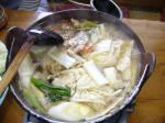 鴨鍋は暖まるなぁ。