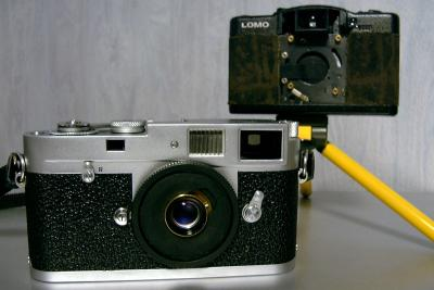 LOMO PINHOLE & Minitar 1-M