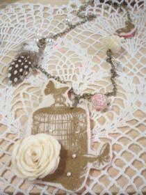 鳥籠ネックレス