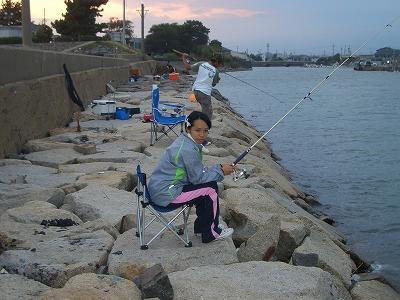千代崎 釣り2