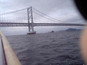 鳴門大橋の南側