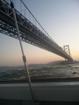 大橋を南下