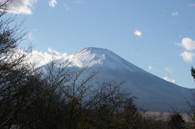 食堂から見た富士山2