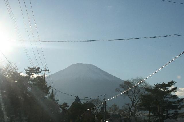 帰り道で見た富士山3