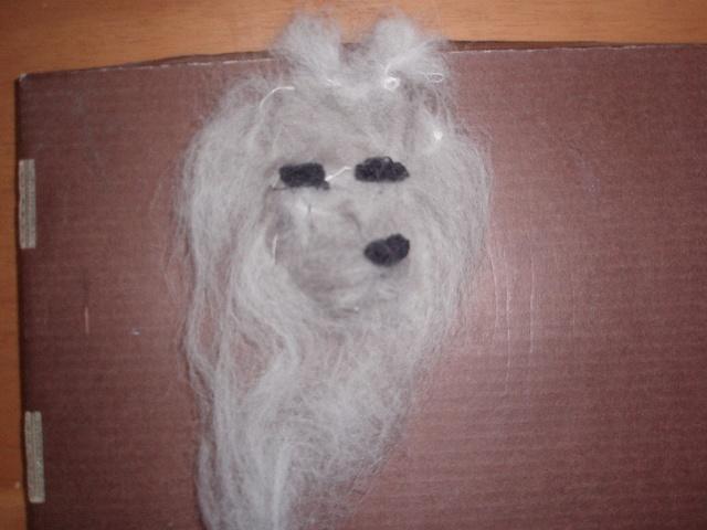 顔はウィンの毛、カラーはホーひゃんとゼロの毛を使ってます。