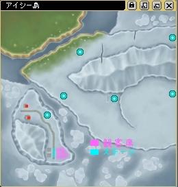 アイシー島地図