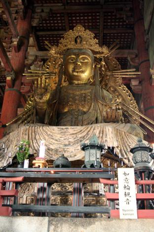 200809奈良如意輪観音