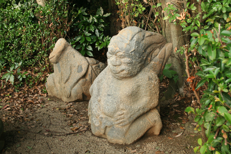 200809奈良猿石2