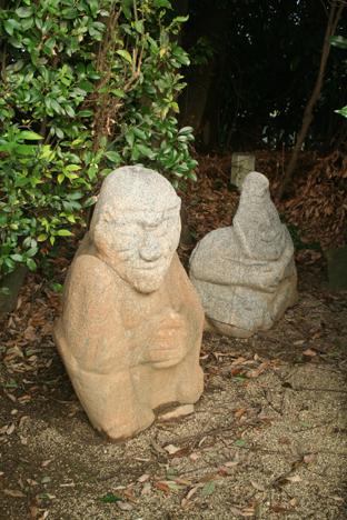 200809奈良猿石3