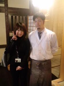 料理長と営業西田