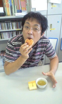 基さん with 和菓子