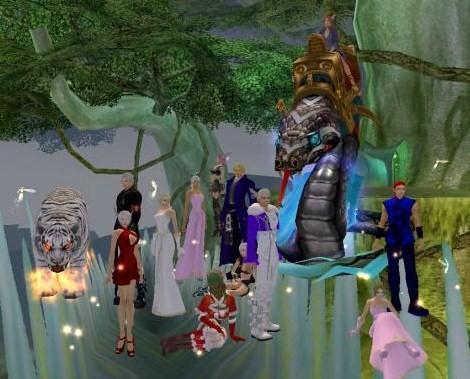 しりゅさんとらぶさんの結婚式2