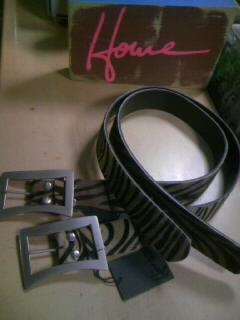 Howe Bent Logo Belt Tan32゛ 5-1