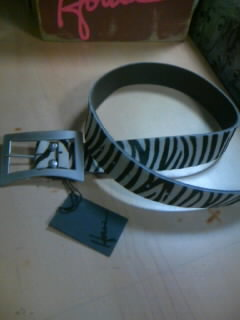 Howe Bent Logo Belt White32゛ 5-3