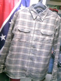 Hurley Eugene CPOシャツ 4-1