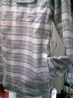 Hurley Eugene CPOシャツ 4-6