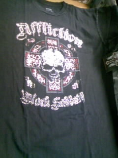 Affliction Black Sabbath T 7-1