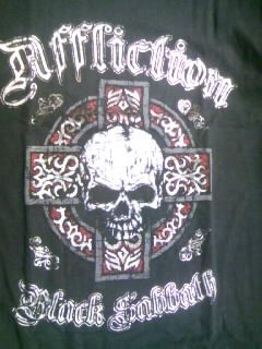 Affliction Black Sabbath T 7-2