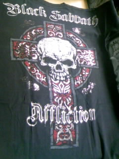 Affliction Black Sabbath T 7-3