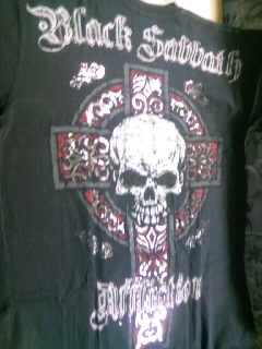 Affliction Black Sabbath T 7-4