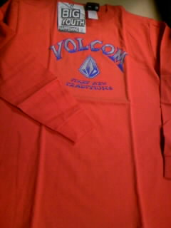 Volcom boy`s LS-T 1-1