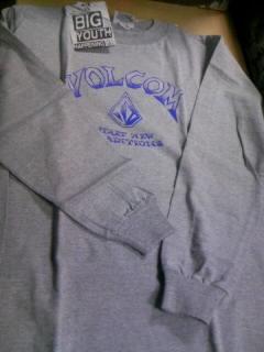 Volcom boy`s LS-T 1-2