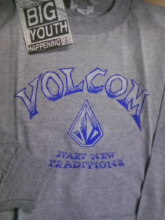Volcom Boy`s LS-T 1-4