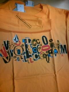 Volcom boy`s LS-T 2-2
