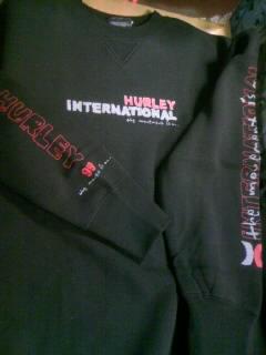 Hurley トレーナー 12-1