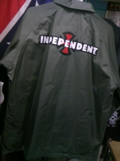 Independent コーチジャケット 4-3