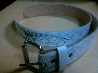 SRH Spaded genuine leather belt 2-2