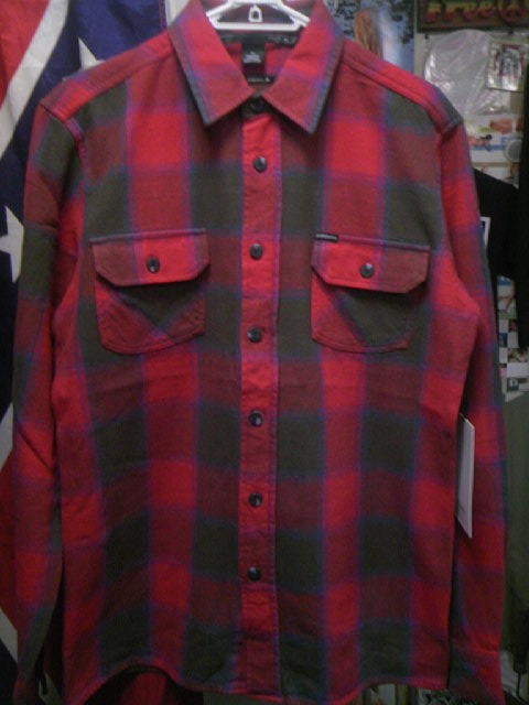 Ambi Bennington ネルシャツ 1-1z