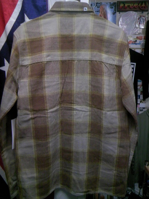 Ambi Bennington ネルシャツ 1-7z