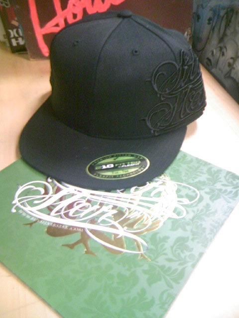 S、Star Script side hat 2-2z