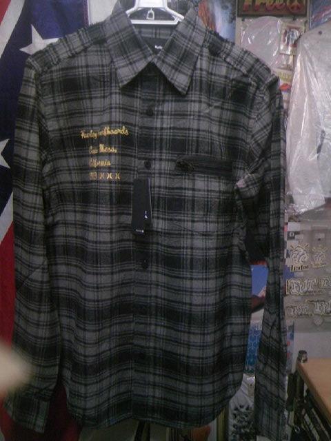 Hurley Downer ネルLSシャツ 3-1z