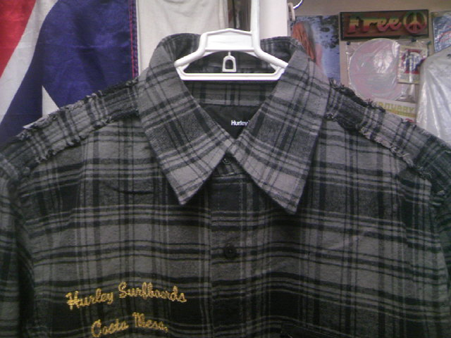 Hurley Downer ネルLSシャツ 3-2
