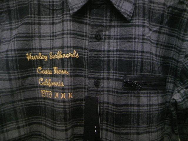 Hurley Downer ネルLSシャツ 3-3