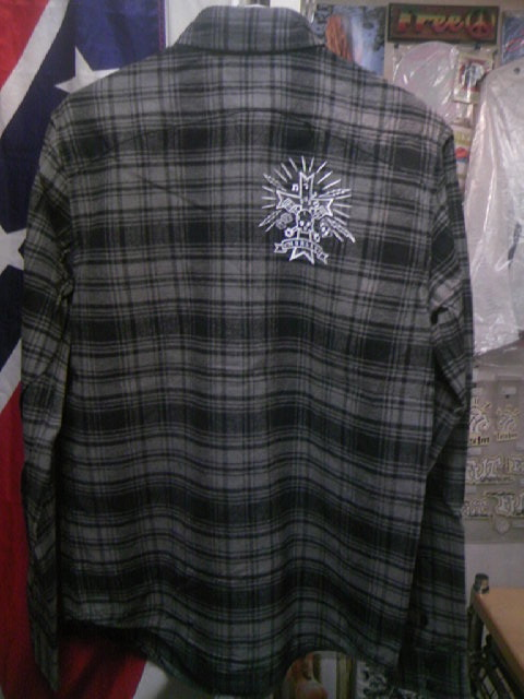 Hurley Downer ネルLSシャツ 3-4z