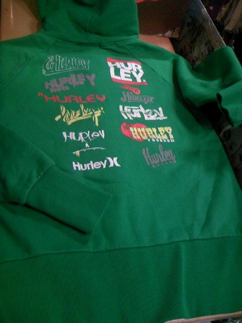 Hurley Crew パーカー 8-6z