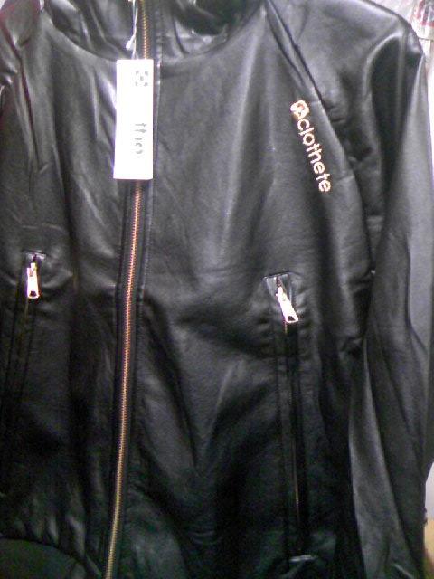 Clothete PUフードJKT 2-3z
