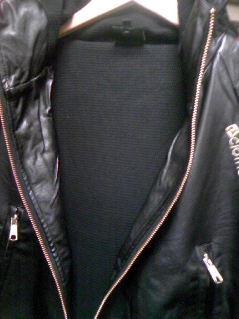 Clothete PUフードJKT 2-4z